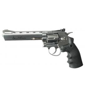 "Revólveres Dan Wesson 6"" Plata"