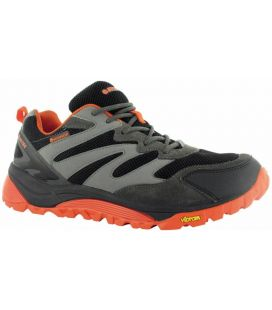Deportiva HI-TEC V-Lite SpHiKE LO WP Black/Charcoal/Red