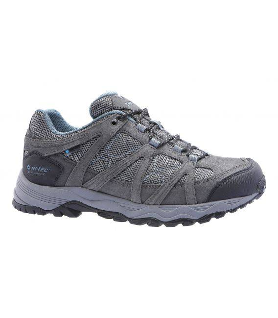 Zapatillas Trekking Hi-Tec RUTA LOW WP Azul/Gris