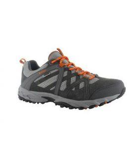 Zapatillas Trekking Hi-Tec ACCELERATE WP Gris/ Naranja