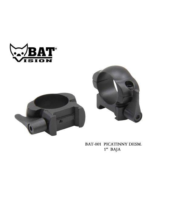 "Anillas BAT VISION 1"" desmontable baja"