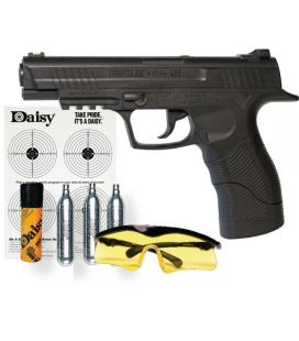 Pistola de aire comprimido CO2 Daisy 415 Power Line + Kit de productos