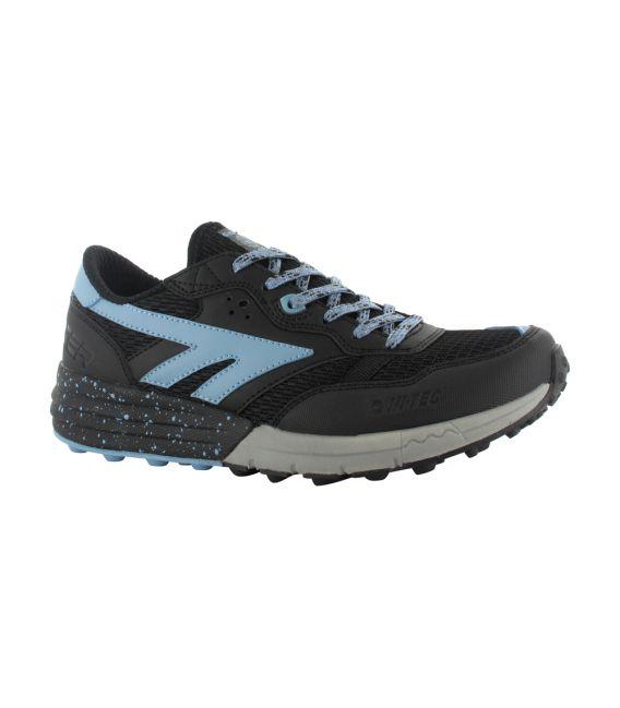 Zapatillas Trekking HI-TEC Badwater Black/Forget me not