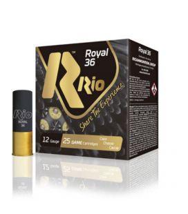 Caja de cartuchos para caza Rio Royal 36 gramos