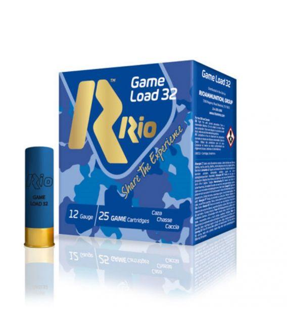 Caja de cartuchos para caza Rio 20 Game load 32 gr