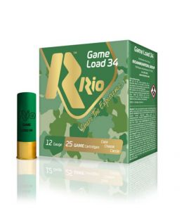 Caja de cartuchos para caza Rio 50 Game Load 34gr.