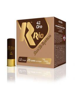 Caja de cartuchos para caza Rio 41 Oro 34 gramos