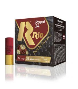 Caja de cartuchos para caza Rio Royal 34 gramos