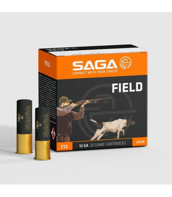 Caja de cartuchos para caza Saga Field 32 gramos