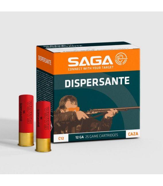 Caja de cartuchos para caza Saga Dispersante 34 gramos