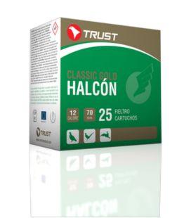 Caja de cartuchos para caza Trust Halcón Fieltro 34 gr.