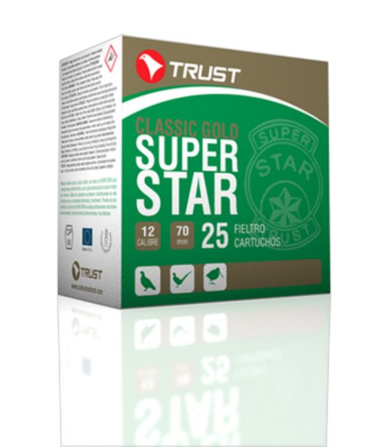 Caja de cartuchos para caza Trust Super Star Fieltro 36 gr.