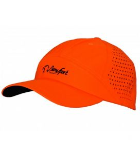 Gorra de verano transpirable Benisport naranja