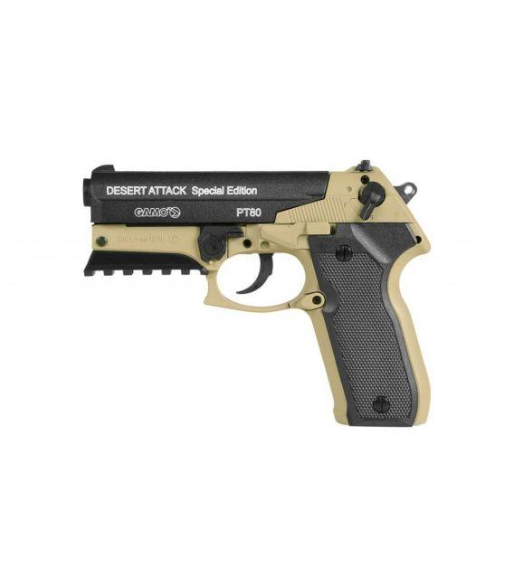 Pistola aire comprimido PT-80 Desert Attack Special Edition Gamo