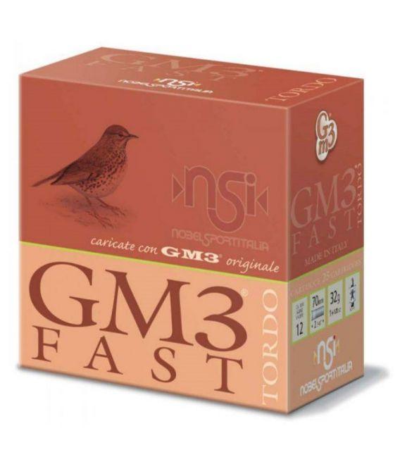 Caja de cartuchos para caza GM3 Fast