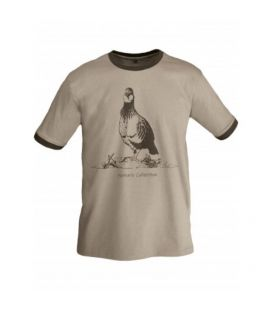 Camiseta BENISPORT Algodón Perdiz