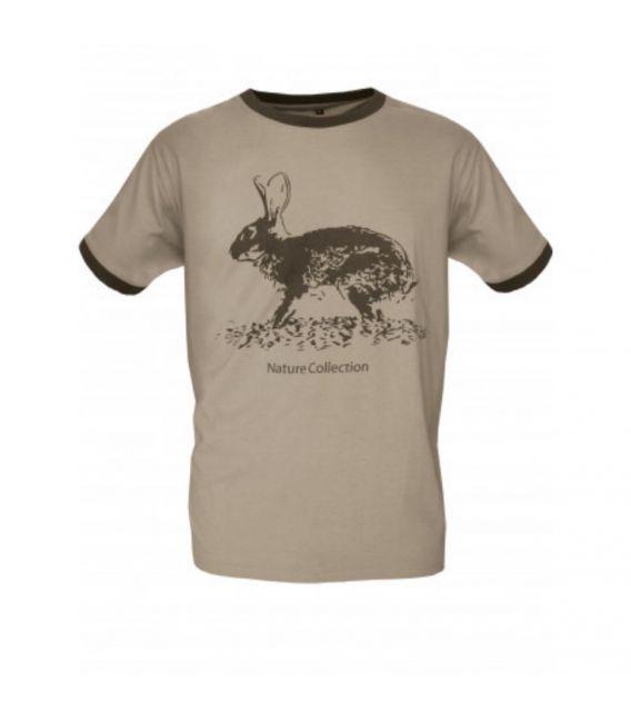 Camiseta BENISPORT Algodón Perdiz Conejo