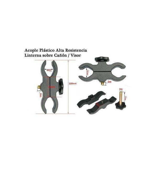 Bat Vision Pinza para sujetar linterna