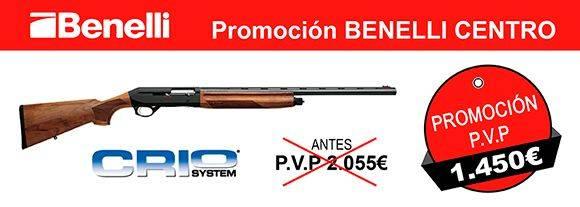 Oferta Escopeta Benelli Centro