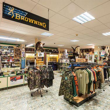 Fotos tienda de caza. Armeria sabater (Castellón)