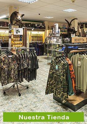 Visita nuestra tienda en Vall Dalba (Castellon). Armeria Sabater