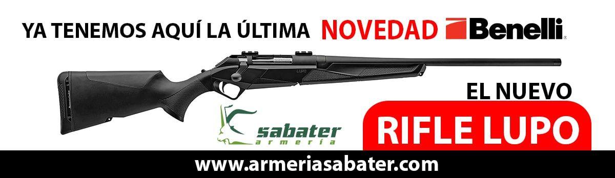 Nuevo Rifle Benelli Lupo